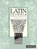 Latin Grammar: Answer Key