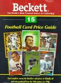 Football Card Price Guide, Vol. 15 - Beckett Publishing - Paperback