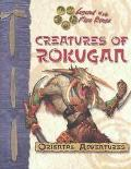 Creatures of Rokugan - An L5R Rpg D20 Supplement