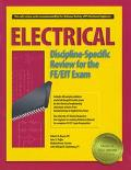 Electrical Discipline-Specific Review for the Fe/Fit Exam
