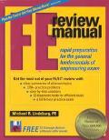 F E Review Manual Rapid Preparation for the General Fundamentals of Engineering Exam