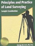 Principles and Practice of Land Surveying Sample Examination