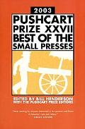 Pushcart Prize 2003 Best of the Small Presses