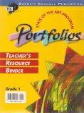 State of the Art Program Portfolios Teacher's Resource Binder Grade 1 (with Transparencies)