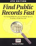 Find Public Records Fast The National Directory Of Government Agencies That House Public Rec...