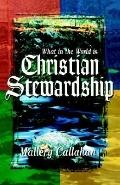 What In The World Is Christian Stewardship