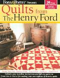 Fons & Porter Presents Quilts from the Henry Ford 24 Vintage Quilts Celebrating American Qui...