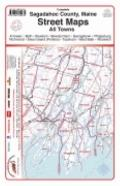 Street Maps of Sagadahoc County, Maine (2007) : An Atlas