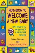 Kid's Book to Welcome a New Baby Fun for a Big Brother or Big Sister