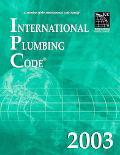 International Plumbing Code 2003