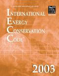 International Energy Conservation Code 2003