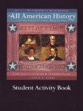 All American History: Student Activity Book, Vol. 1