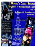 Oswald's Closest Friend; The George de Mohrenschildt Story: His Haitian Baby Was Not For Papa