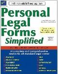 Personal Legal Forms Simplified : The Ultimate Guide to Personal Legal Forms