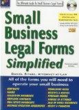 Small Business Legal Forms Simplified: The Ultimate Guide to Business Legal Forms (Small Bus...