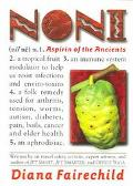 Noni Aspirin of the Ancients