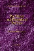 Theory and Principles of Tort Law