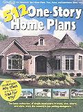 512 One Story Home Plans