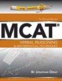 Verbal Reasoning & Mathematical Techniques (Examkrackers MCAT)