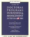 Guide to Doctoral Programs in Business & Management in the USA 2001