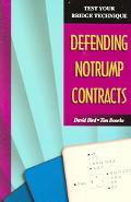 Defending Notrump Contracts
