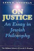 On Justice: An Essay in Jewish Philosophy