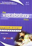Vocabulary Files - A1, Student's Book: English Usage - Elementary
