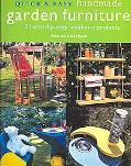 Quick & Easy Handmade Garden Furniture