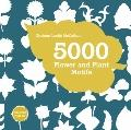 5000 Flower and Plant Motifs (Book & CD)