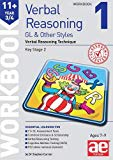 11+ Verbal Reasoning Year 3/4 GL & Other Styles Workbook 1