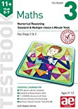 11+ Maths Year 5-7 Testbook 3: Numerical Reasoning Standard & Multiple-Choice 6 Minute Tests