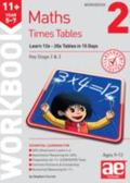 11+ Times Tables Workbook 2