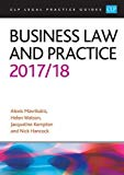 Business Law and Practice 2017/2018 (CLP Legal Practice Guides)