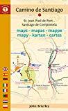 Camino de Santiago Maps: St. Jean Pied de Port - Santiago de Compostela (Camino De Santiago ...