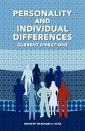 Personality and Individual Differences: Current Directions
