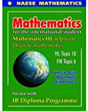 Mathematics for Intenrational Student:HL Options Discrete Mathematics