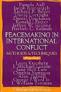 Peacemaking And International Conflict Methods And Techniques