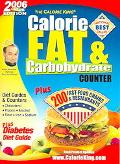 Calorie King Calorie, Fat & Carbohydrate Counter