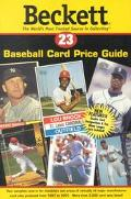 Beckett Baseball Card Price Guide, Vol. 23