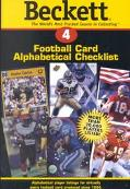Beckett Football Card Alphabetical Checklist