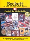 Beckett Football Card Price Guide, Vol. 19 - James Beckett - Paperback