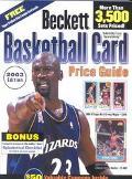 Beckett Basketball Card Price Guide 2003