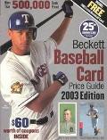 Beckett Baseball Card Price Guide 2003