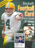 Beckett Football Card Price Guide 2003-2004