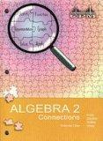 Algebra 2 Connections, Volume 1