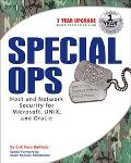 Special Ops Host and Network Security for Microsoft, Unix, and Oracle
