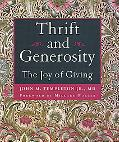 Thrift And Generosity The Joy Of Giving