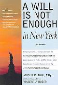 Will Is Not Enough in New York