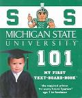 Michigan State University 101 My First Text-Board-Book