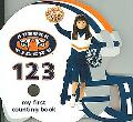 Auburn Tigers 123 My First Counting Book